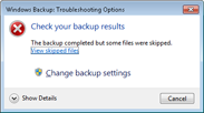 windows backup -small